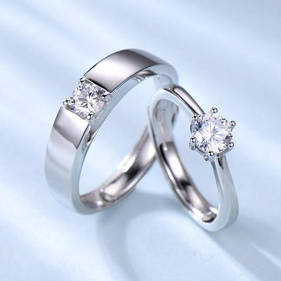 Diamonds West Custom Diamond Engagement Wedding Rings